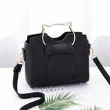 Purrfectly Kitten PU Leather Shoulder Bag - 4 Colors