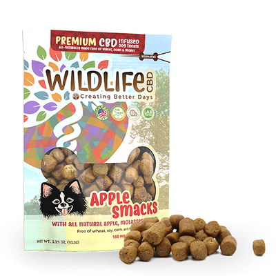 Premium Dog Treats – Apple Smacks 150mg