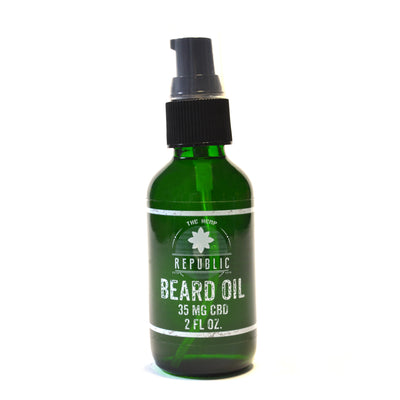 Hemp Republic's Manly Beard Oil 2oz