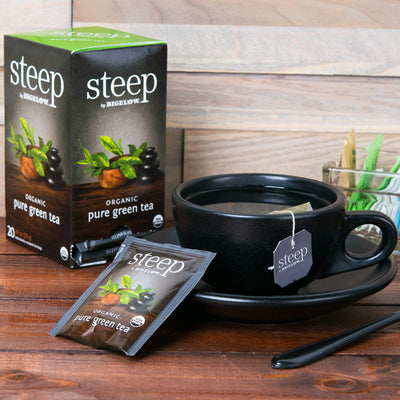Steep By Bigelow Organic Tea - 20/Box