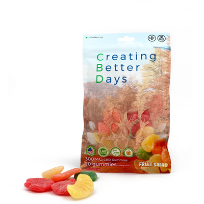 Nano-CBD Gummies Fruit Salad