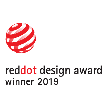 reddot design award winner 2019 logo