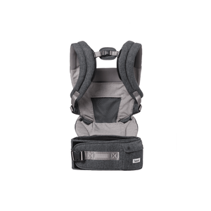 bebefit smart baby carrier dark gray product only back
