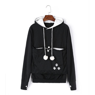 Pet Lovers Hoodie With Cuddle Pouch