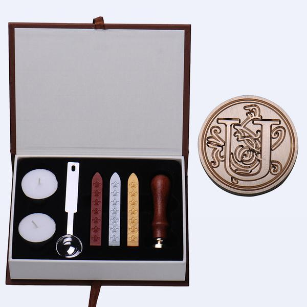 A-Z Initial Wax Seal Stamp