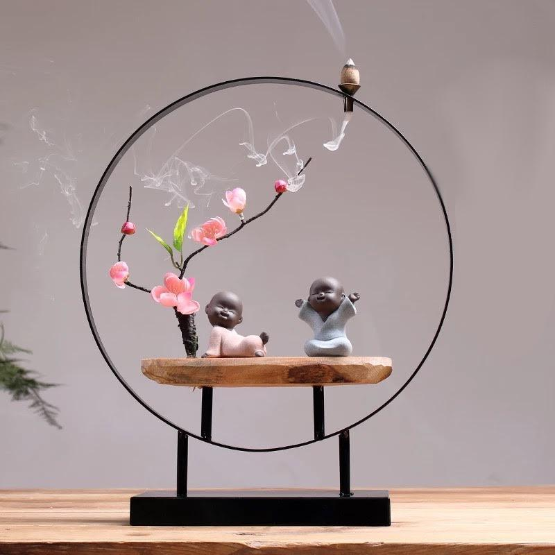 ZEN SETTINGS INCENSE HOLDER