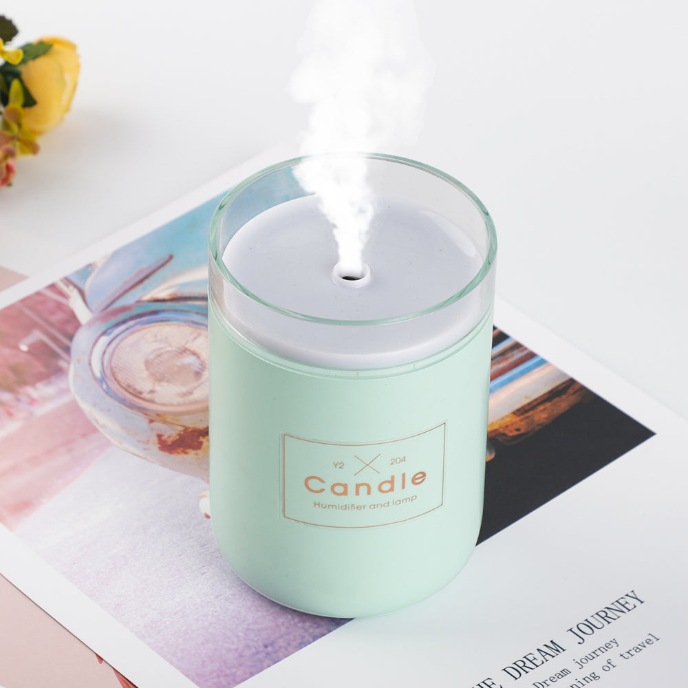 USB Candle Diffuser Lamp