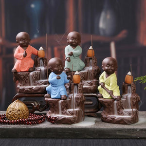 MONK BACKFLOW INCENSE HOLDER