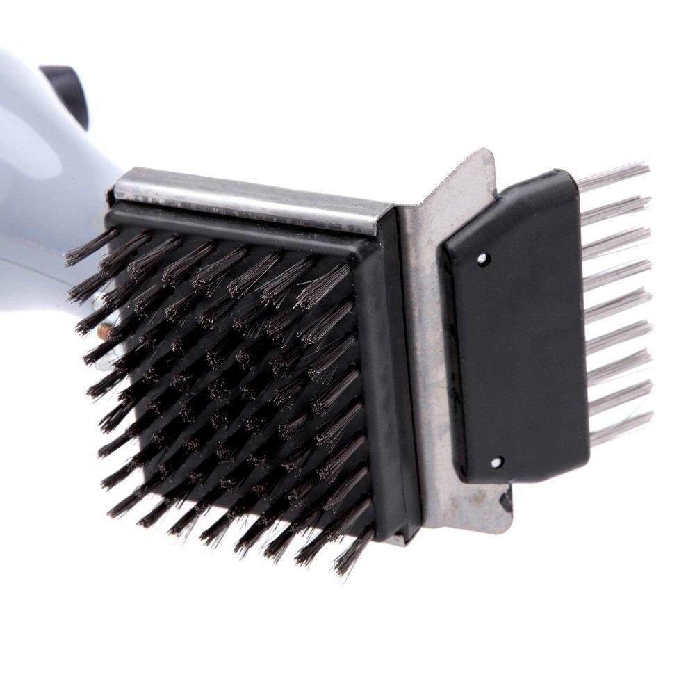 Grill Daddy GB91062S Barbeque Grill Steam Brush with Stainless Steel Bristles
