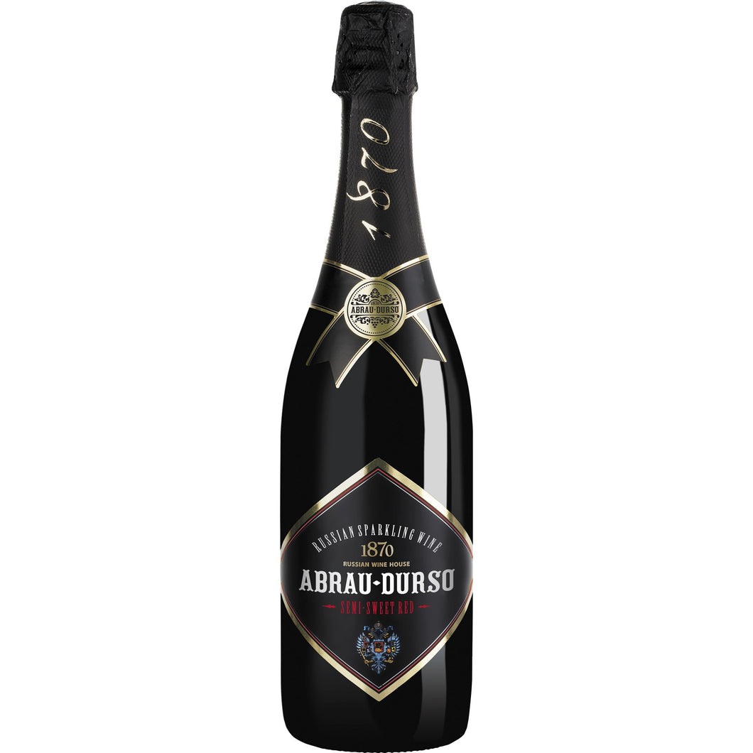 Abrau-Durso Mousserende Vin, Semi Sweet Red