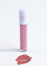 "lip gloss in shade ""First Kiss"" (nude pink)"