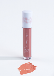 "lip gloss in shade ""Crash"" (nude brown)"