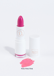 matte lipstick in shade Pink Pink PInk (bright pink)