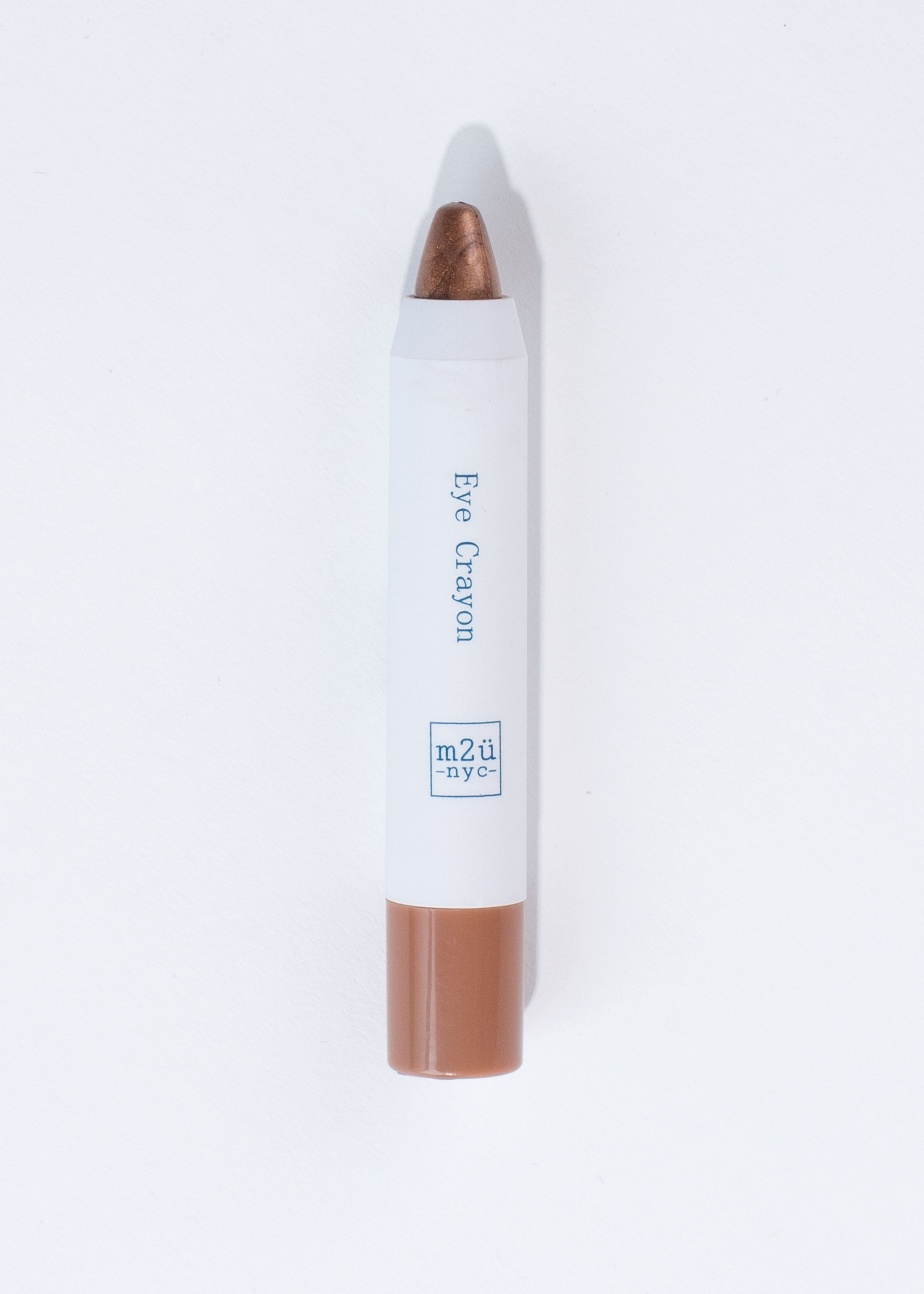 pencil-like eyeshadow crayon in shade copper storm