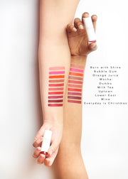 moisturizing lipstick arm swatches