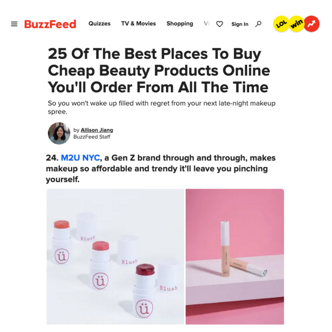 buzzfeed the best place to buy cheap beauty products online