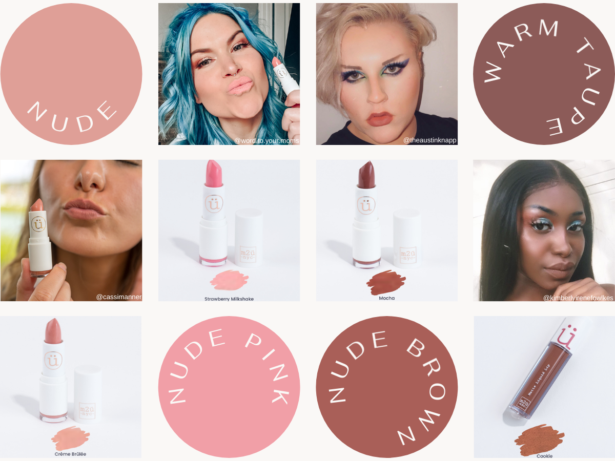 nude lipstick shades for my skin tone
