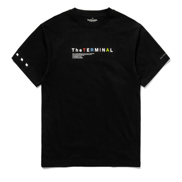 TheTERMINAL Colored Logo T-shirt