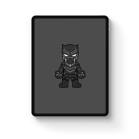 Black Panther 1st Costume [OG Colorway]