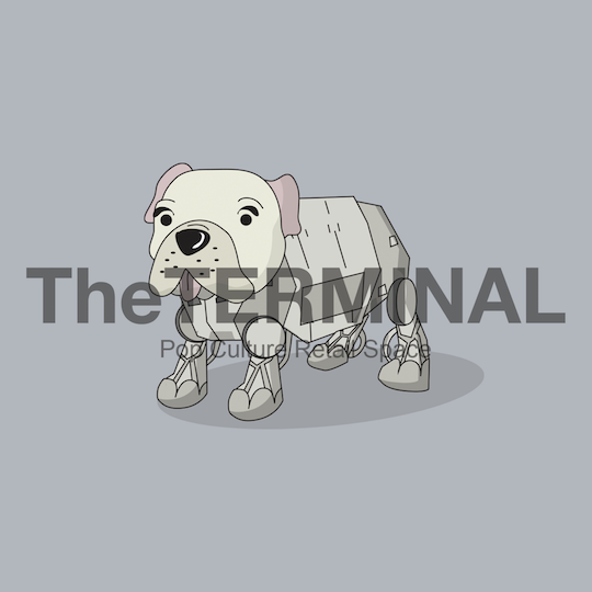 French Bulldog x AT-AT Star Wars