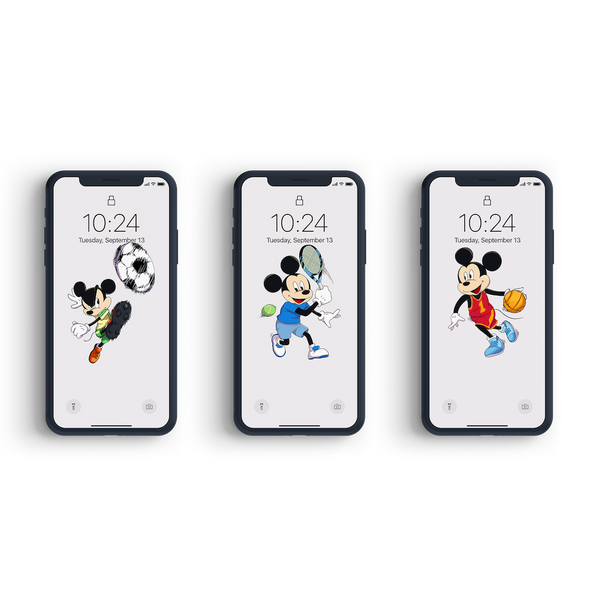 Mickey x Sports theme - Bundling Package