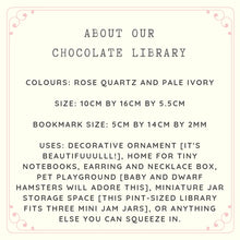 Load image into Gallery viewer, Omakase Chocolate Library [miniature]