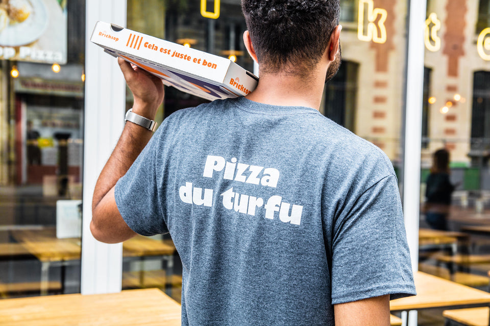 T-shirt Pizza du turfu