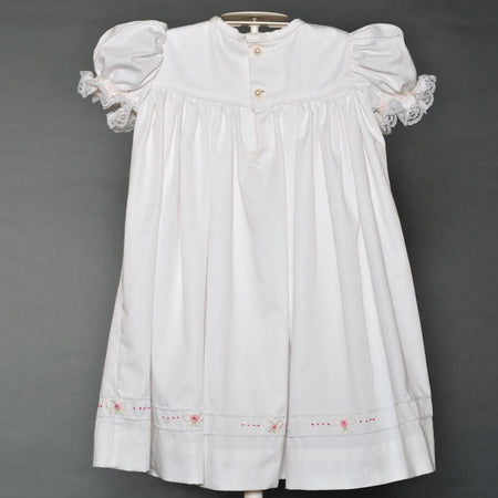 Girl's White Party Dress