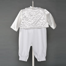 Load image into Gallery viewer, Boys Baptismal Romper