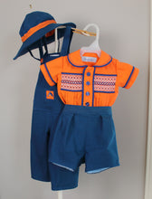 Load image into Gallery viewer, Baby Hat/Shirt/Short/Overalls Set