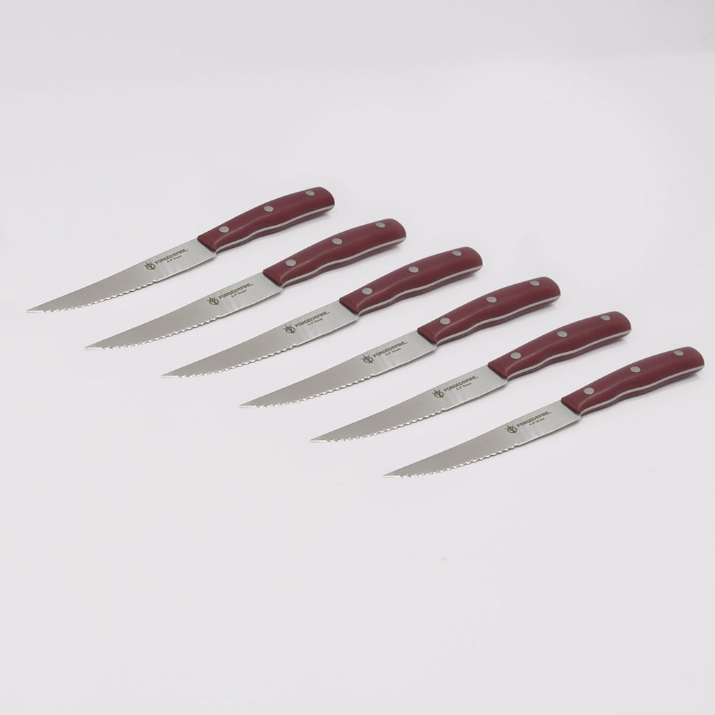 4.5 Inch Steak Knife 6-Piece Set