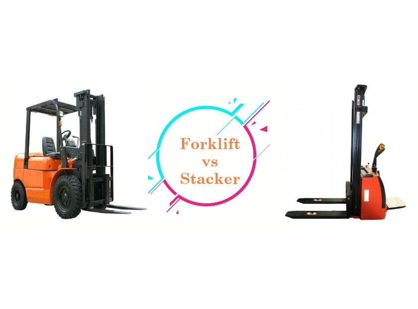The Difference Between The Stacker And The Forklift