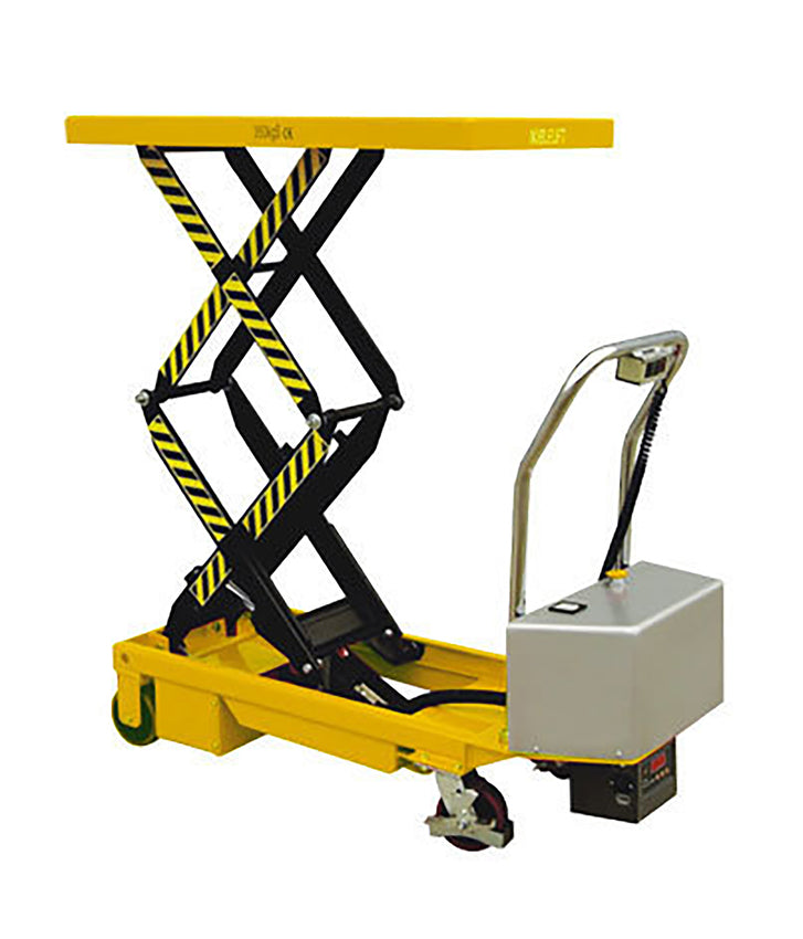 Electric Double scissor lifts for inner City Goods Delivery, now available from Quality Jack