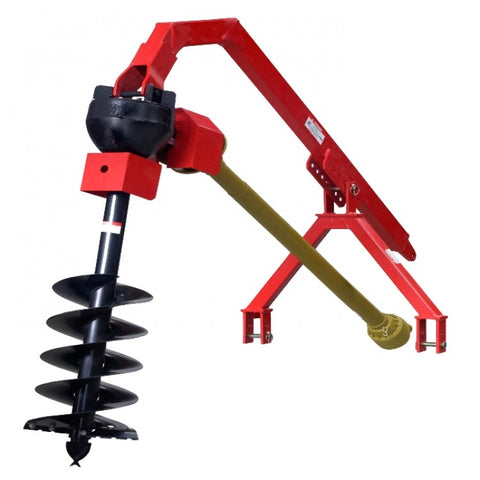 Post Hole Digger Heavy Duty CAT1, 3PL for Tractors to 90HP | QualityJack