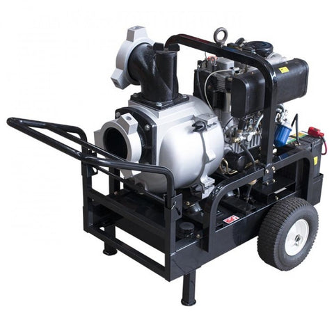 "20HP Diesel Engine 6"" Trash Pump With Electric Start 