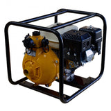 "7HP Petrol Engine 4 Stroke 1.5"" Twin Impeller Fire Fighting Pump Recoil Start 
