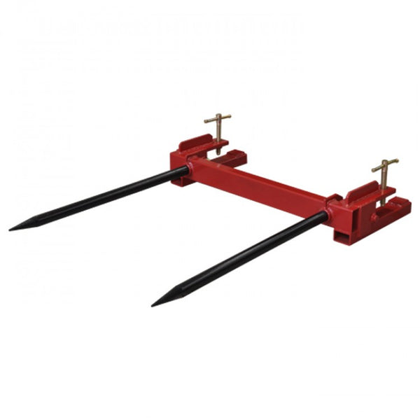 Big Square Bale Spear Hay Spike Clamp on Bucket 900kg | QualityJack