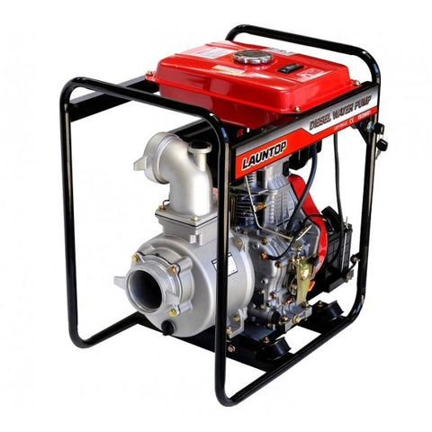 "10HP Diesel Engine 4"" Water Pump with Electric Start 