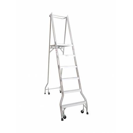6 Step Monstar Industrial Platform Ladder 1690mm - Quality Jack