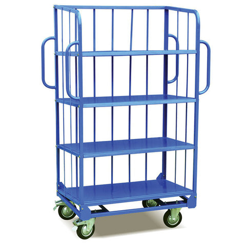 Heavy Duty Sloping 4 Shelf Trolleys | SkyJacks