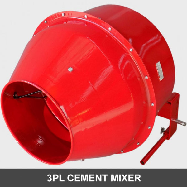 Cement Mixer 3 Point Linkage for Tractor | QualityJack