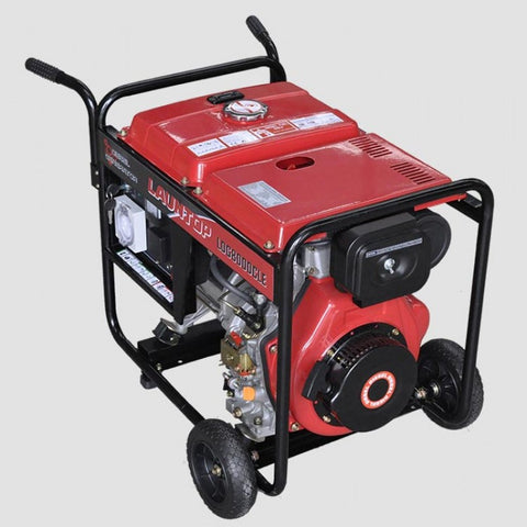 6kw Electric Start Generator 10HP Diesel Engine | QualityJack