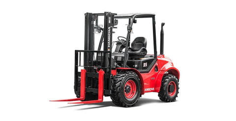 2.5-3.5t Four-Wheel Drive Rough Terrain Forklift Truck | SkyJacks