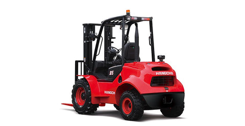 2.5-3.5t Two-Wheel Drive Rough Terrain Forklift Truck | SkyJacks