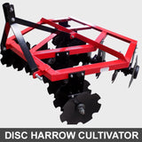 Heavy Duty 6ft Disc Harrow Cultivator Frame | QualityJack
