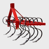 "6ft ""S"" Tine Cultivator Tractor CAT1, 3 Point Linkage 25HP+ 