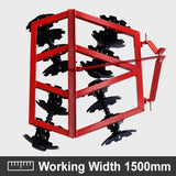 Heavy Duty 5ft Disc Harrow Cultivator Frame | QualityJack