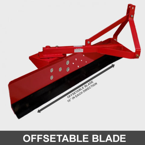 1800mm 6ft Grader Blade 3 Point Linkage | QualityJack