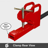 900kg Universal Bale Spear Hay Spike Clamp on Bucket | QualityJack