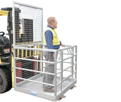 Forklift Work Platform Forklift Safety Cage | SkyJacks